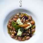 Zuppa di verdure e legumi con gnocchetti di Pecorino Romano DOP