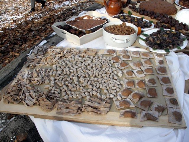 Pasta e ricette a base di Castagna del Monte Amiata IGP
