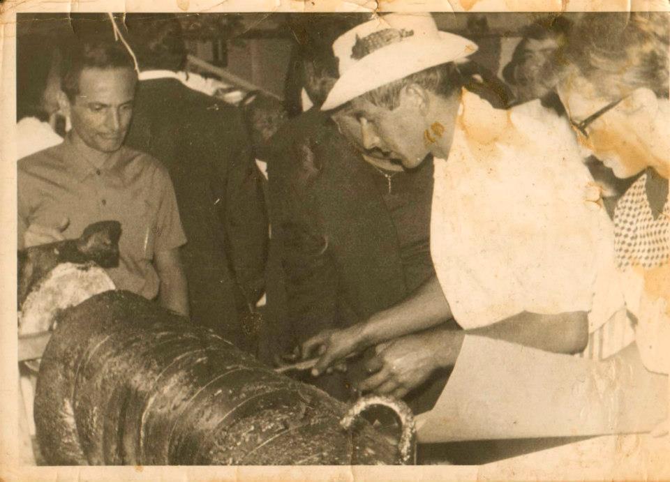 Sagra della Porchetta, foto storica