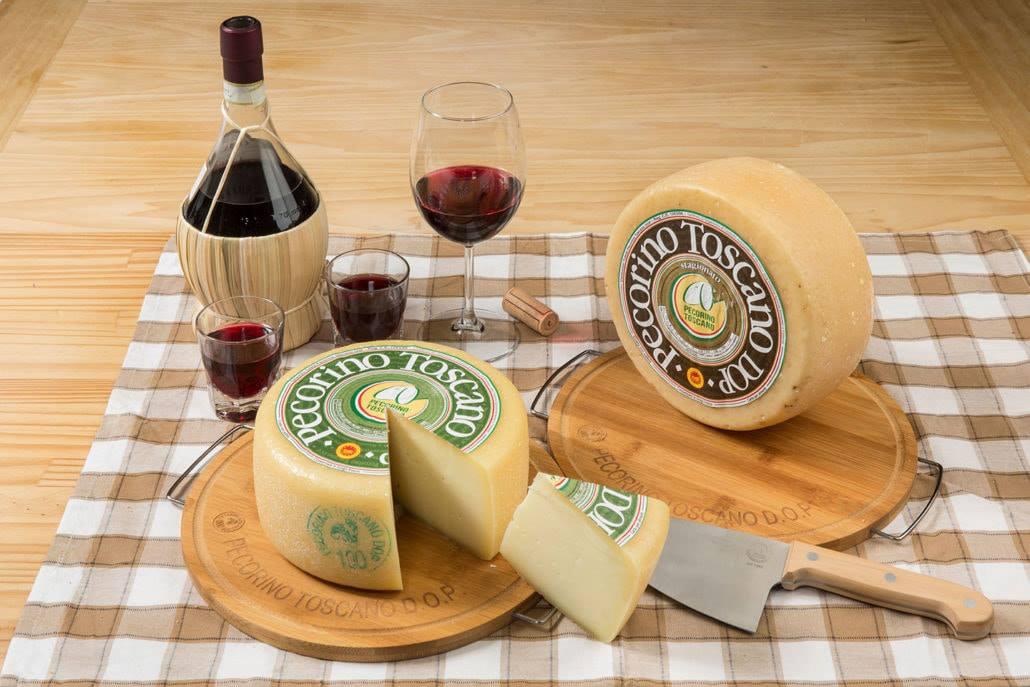 Pecorino Toscano DOP in abbinamento ai vini rossi