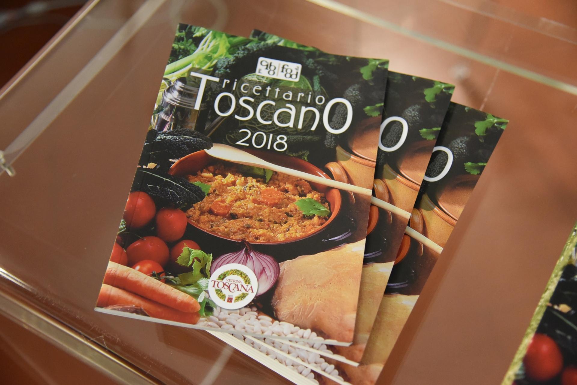 Ricettario Toscano, presentazione a Firenze presso la Regione Toscana