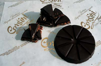Panforte glacé al cioccolato