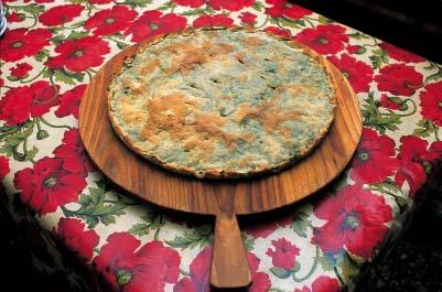 Torta di riso lunigianese