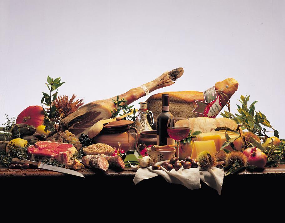 Prodotti tipici della Regione Toscana