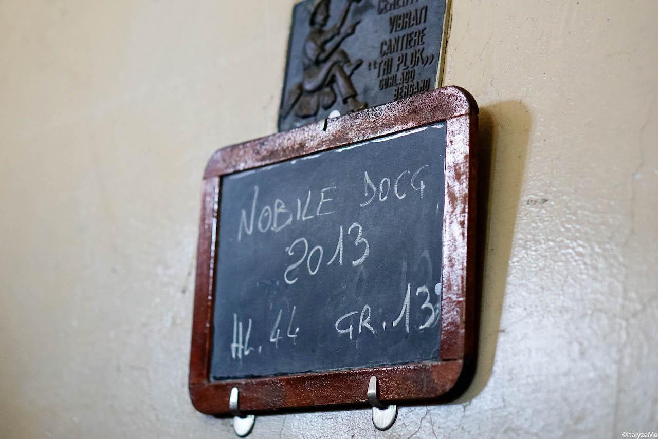 L'invecchiamento di quel Vino Nobile DOCG che sarebbe diventato la Riserva Ultimo 2013