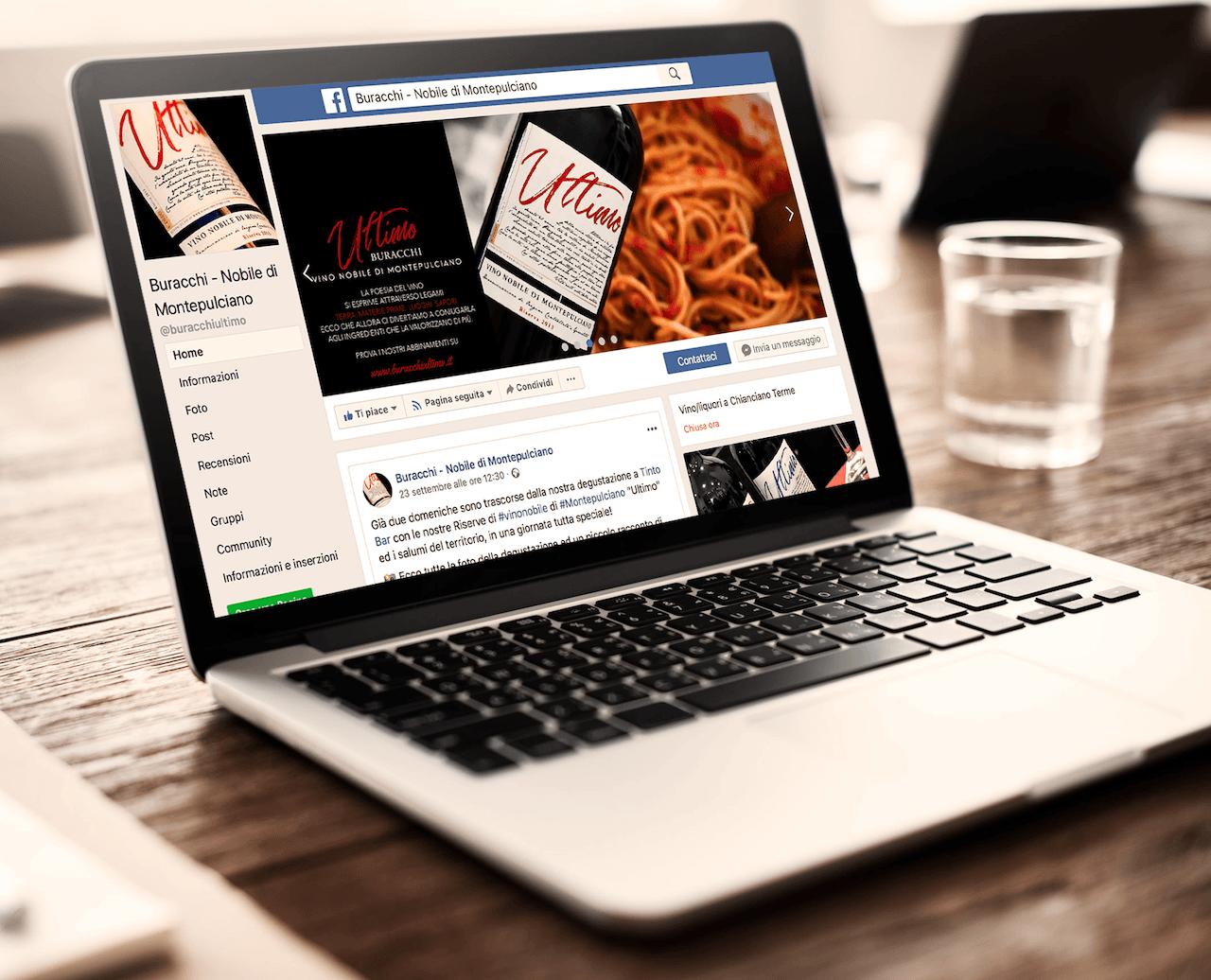 La pagina Facebook di Az. Agr. Buracchi: Buracchi - Vino Nobile di Montepulciano