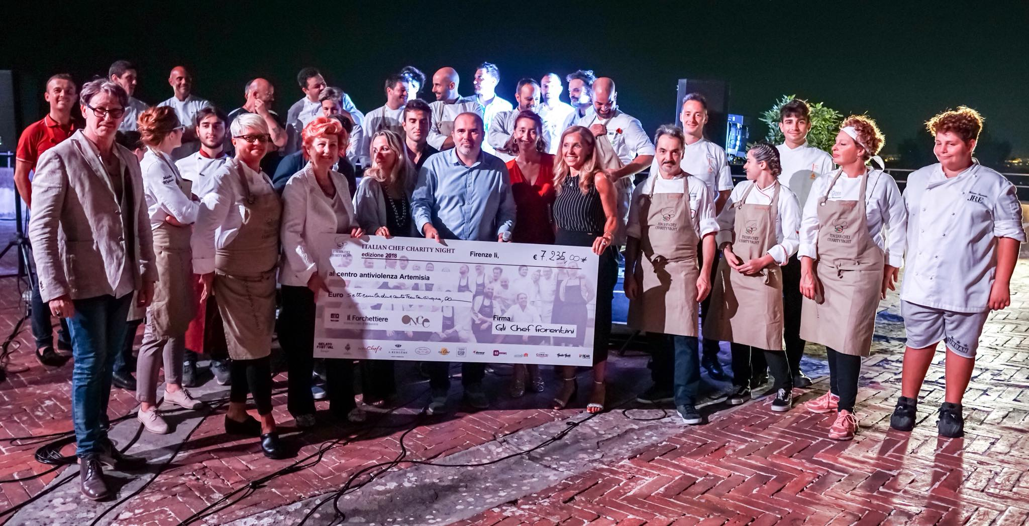 """""""Italian Chef Charity Night"""" al Forte Belvedere"""