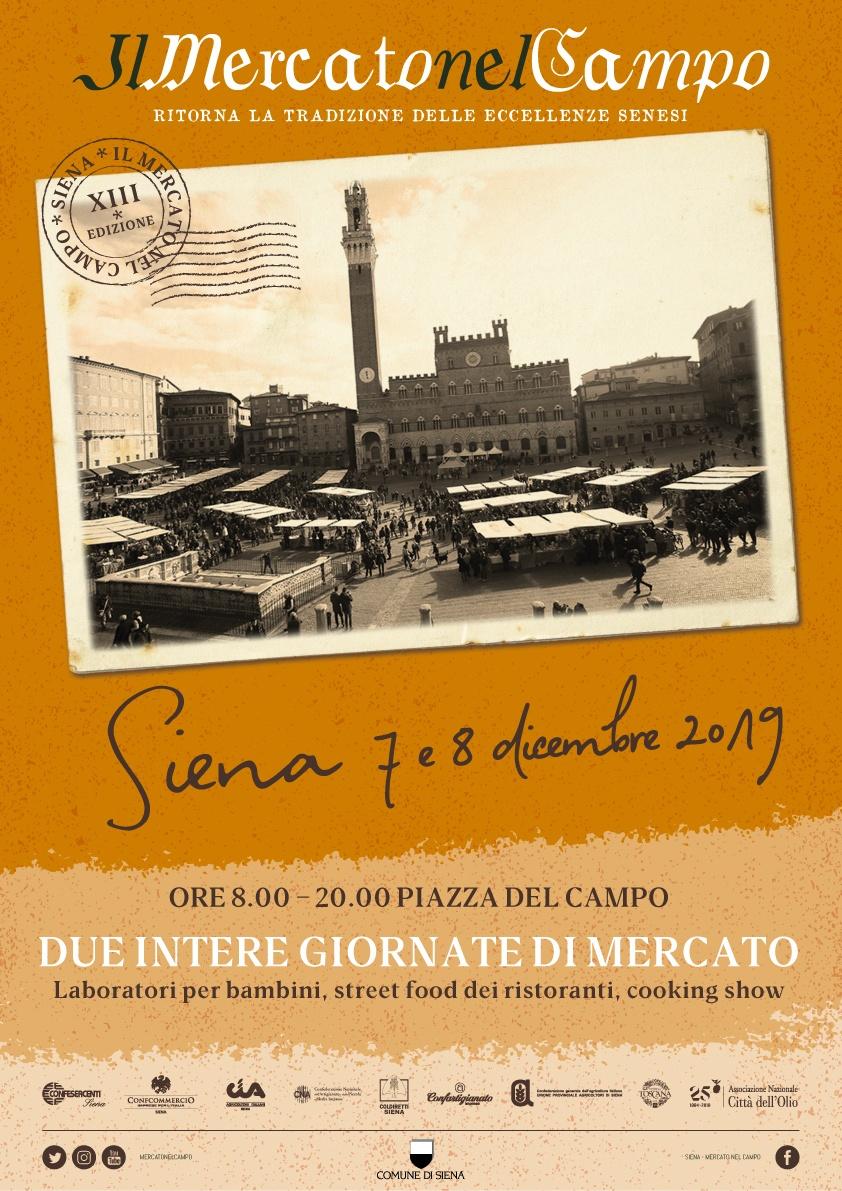 Mercado nel Campo di Siena, edizione 2019