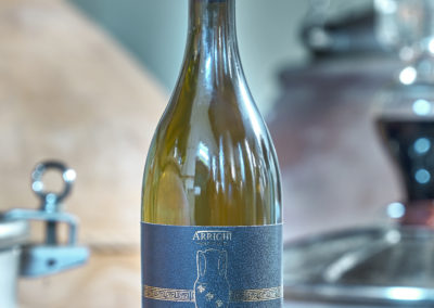 La bottiglia di Nesos, il vino marino