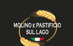 Logo con sfondo nero Pasta Bertoli Molino e Pastificio sul Lago