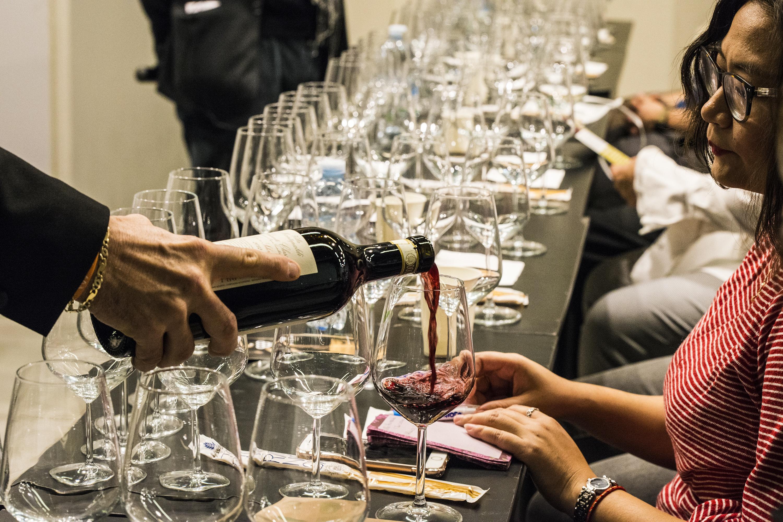 Degustazioni di vino presso la rassegna Enogastronomica a Firenze