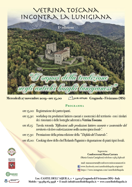 Vetrina Toscana in Lunigiana
