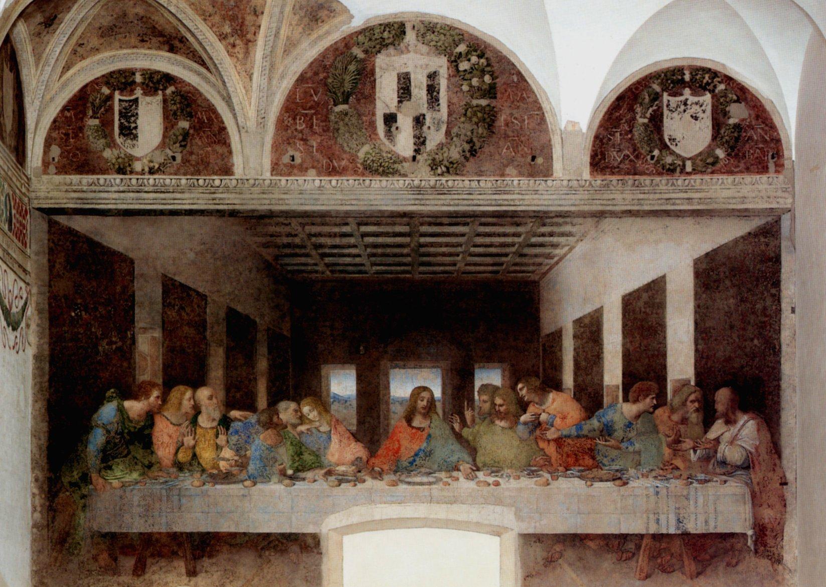 Cenacolo, Leonardo da Vinci, Ultima Cena
