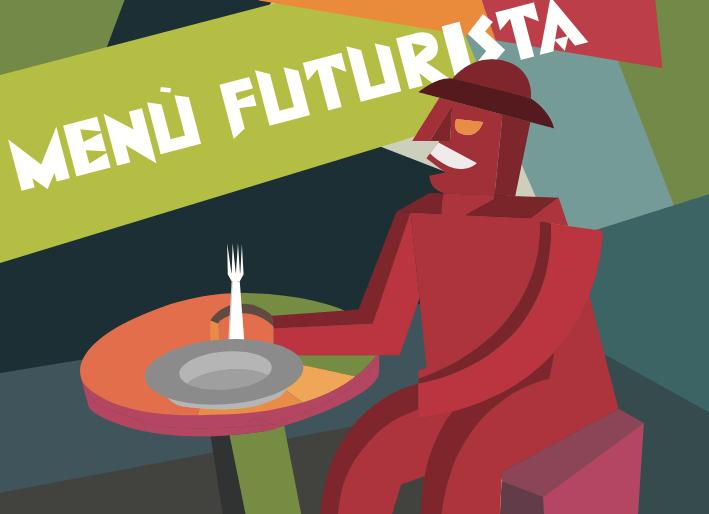 Menù futurista al Palazzo Blu di Pisa