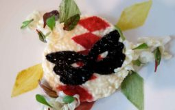 la ricetta del risotto in maschera del ristorante lunasia, dello chef luca landi