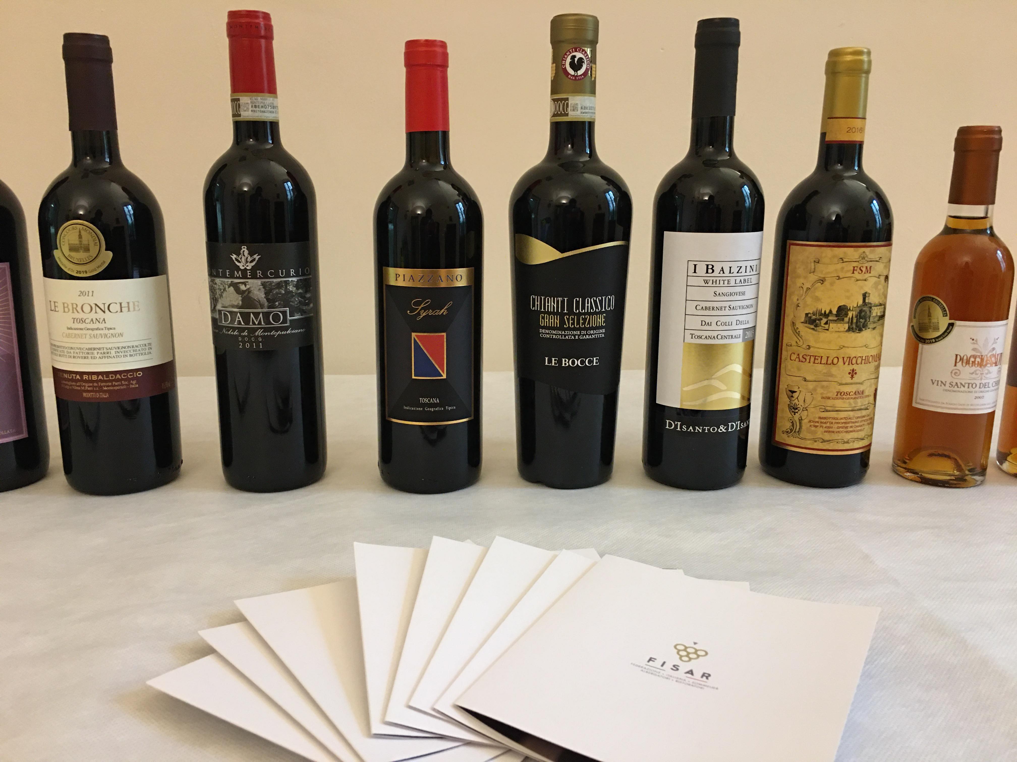 Bottiglie di vino della Toscana: Buy Wine e Anteprime di Toscana