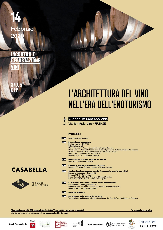 L'architettura del vino nell'era dell'enoturismo: dall'Europa alla Toscana tra etica ed estetica