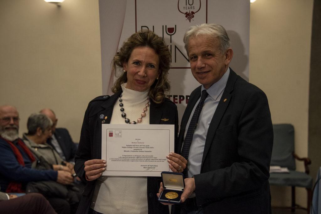 Premio Barbara Tamburini miglior enologo 2019