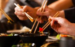 cibo cinese nelle mense