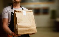 Consegna di cibo a domicilio