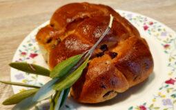 Pan di ramerino, dolce tipico dell'area fiorentina per il periodo della Pasqua