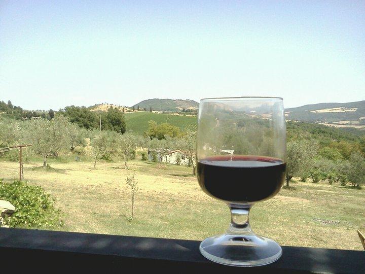 buon vino e panorama