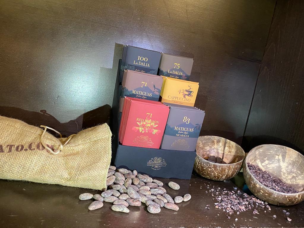 Tuscani Cioccolato Selezione Tavolette Origine