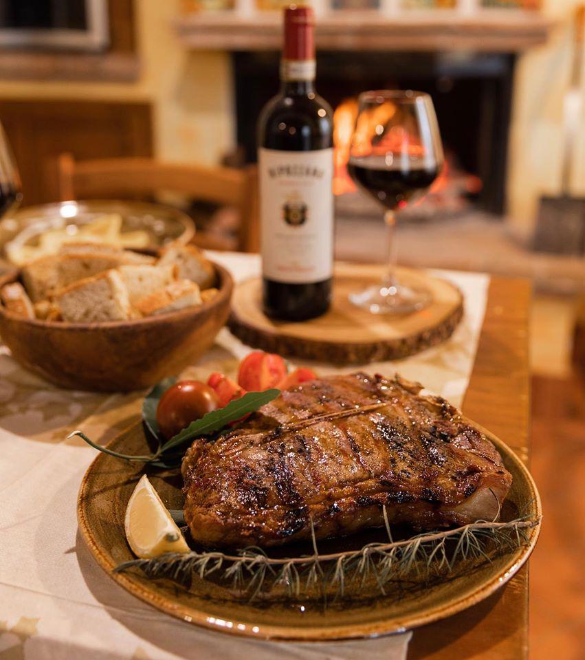 Bistecca alla fiorentina, Agriturismo La Mignola