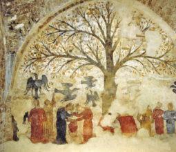 affresco dell'albero dell'abbondanza