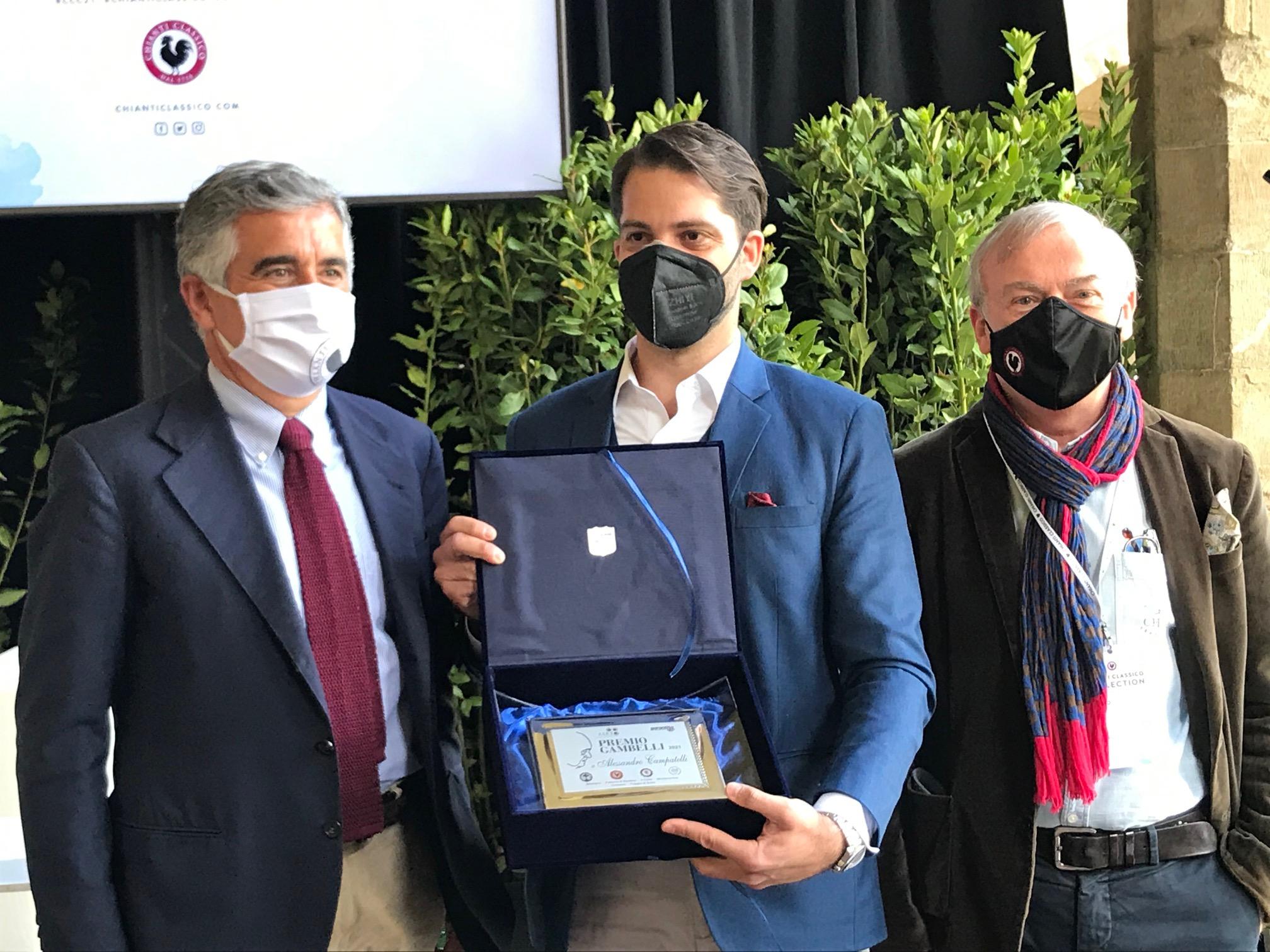 Vino, ad Alessandro Campatelli il 9° Premio Gambelli