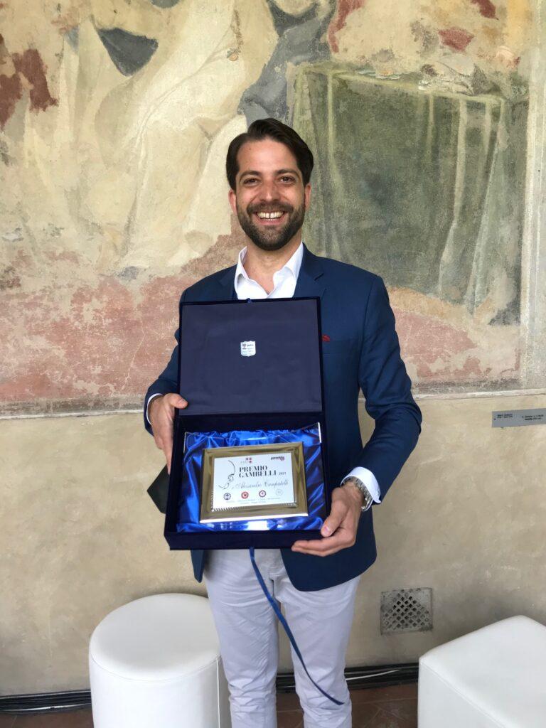 Ad Alessandro Campatelli il 9° Premio Gambelli