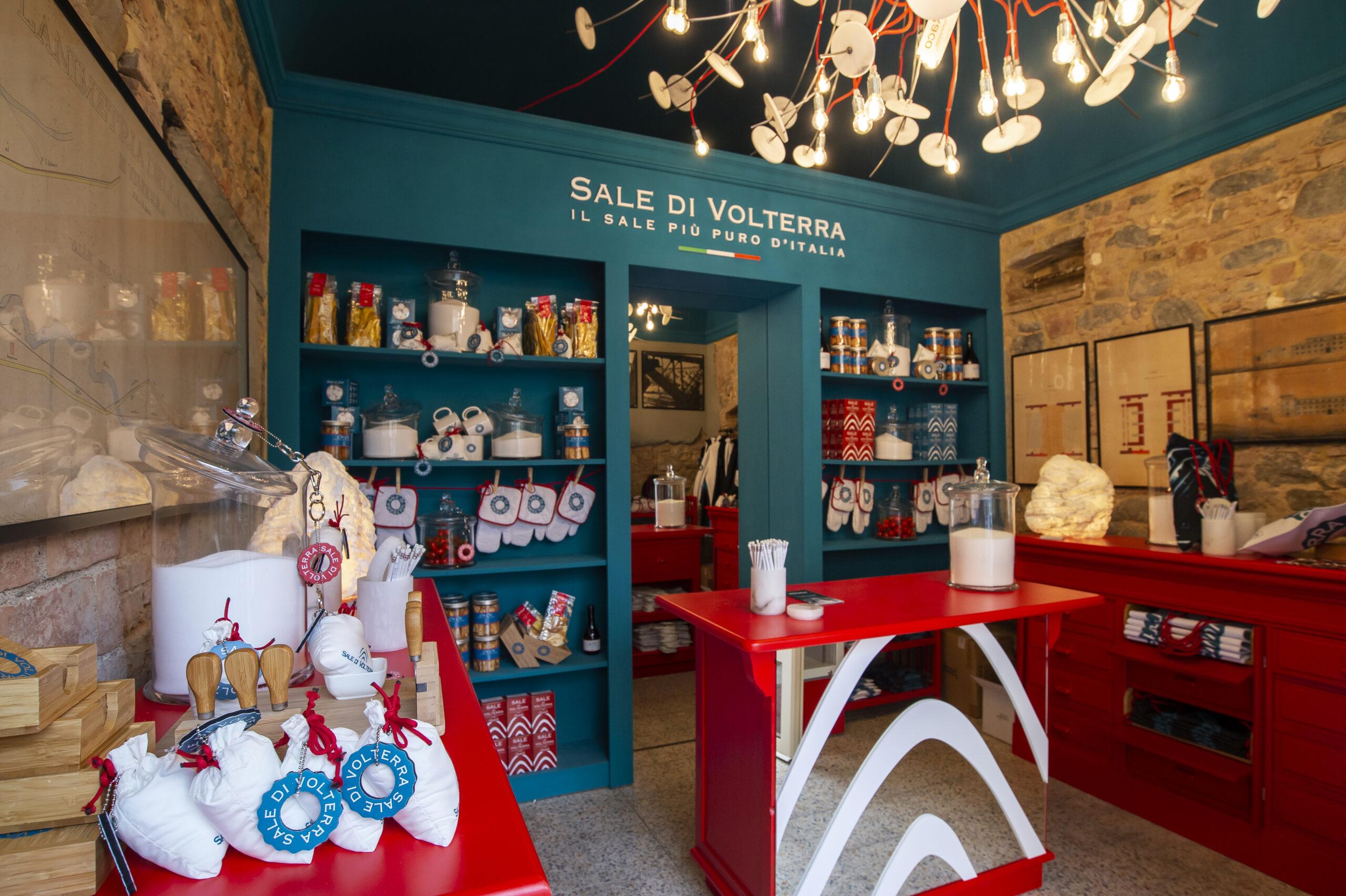 A Lajatico apre la prima boutique del sale di Volterra