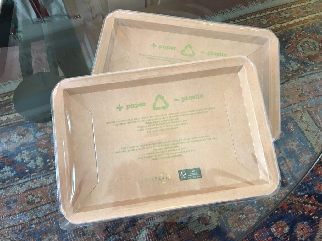 Pecorino Toscano DOP nella confezione riciclabile